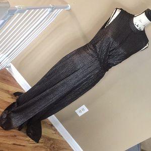 BCBGeneration dress size L black/silver shimmery
